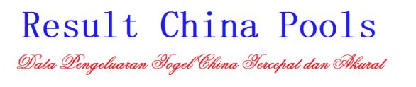 Data Result China
