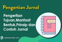 Pengertian Jurnal