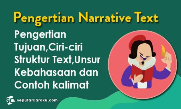 Pengertian Narrative Text