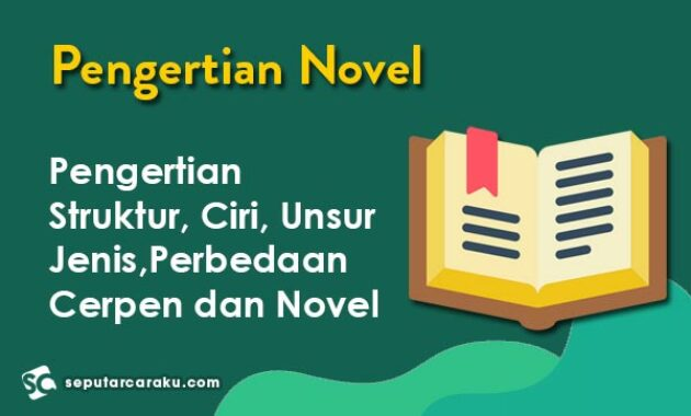 Pengertian Novel