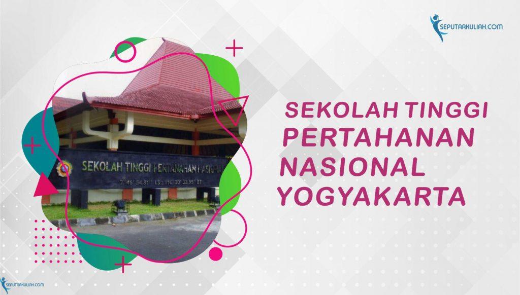 ptn di jogja - Sekolah tinggi pertahanan nasional yogyakarta