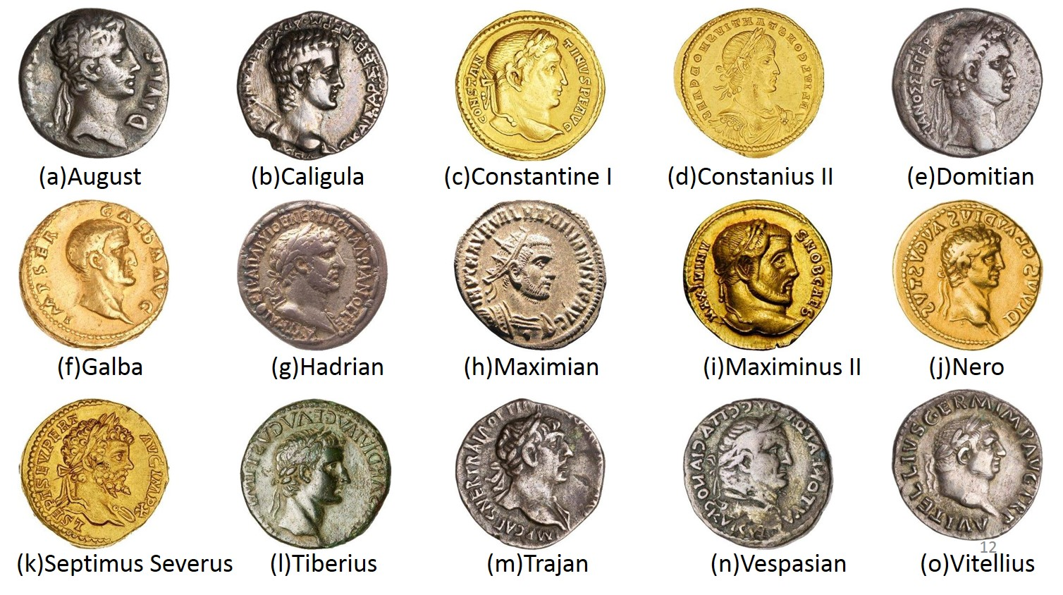 Recognition Of Ancient Roman Coins Using Spatial