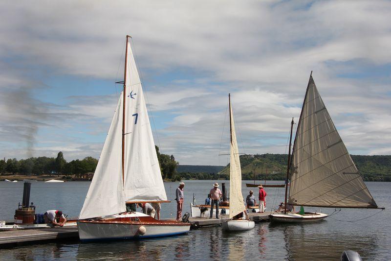 Les bateaux de Sequana à Poses