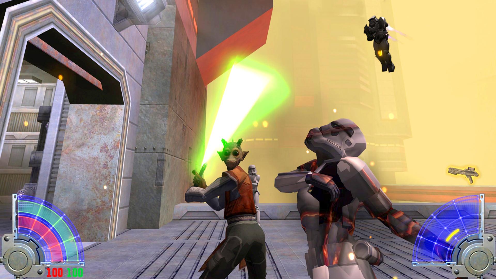 Video Game Review Star Wars Jedi Knight Jedi Academy