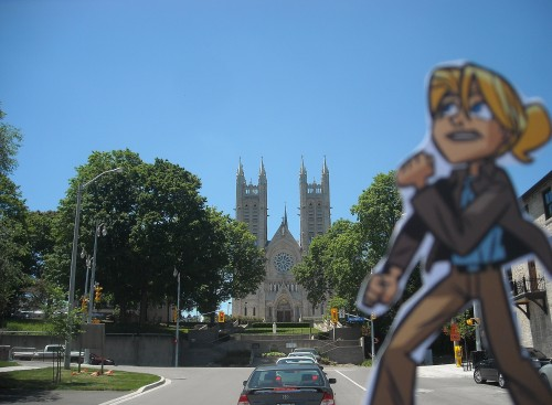 Alison Dare vs. Church of Our Lady, Guelph, Canada