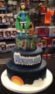 Nelvana cake created by Jessica Costley