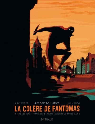 La Colere de Fantomas, cover by Julie Rocheleau