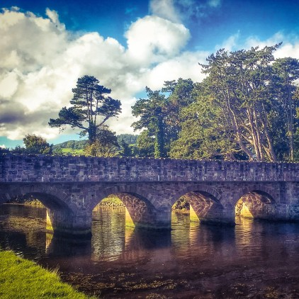 A bridge near Cushendun Beach, Northern Ireland
