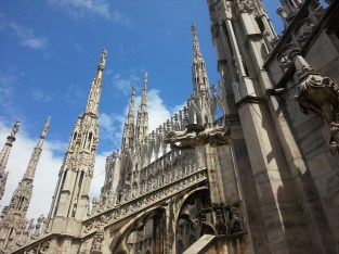 Duomo of Milan Cathedral Roof