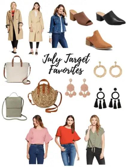 July Target Favorites