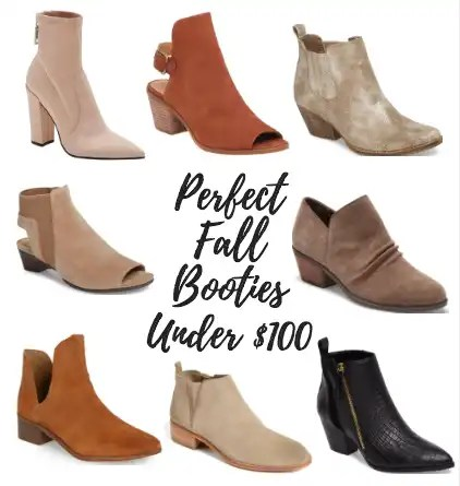 Perfect Fall Booties Under $100