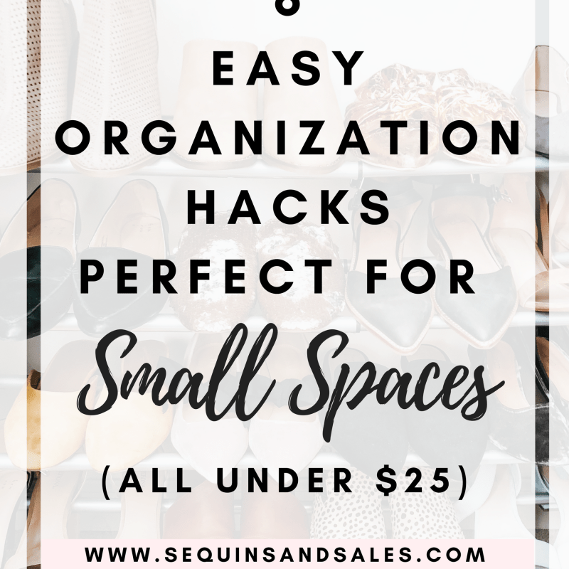 6 Easy Organization Hacks Perfect for Small Spaces