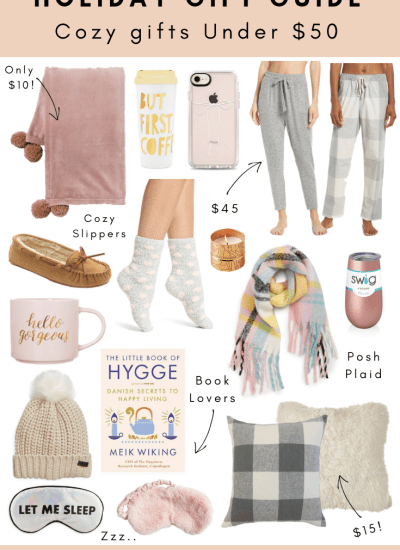 Holiday Gift Guide – Cozy Gifts Under $50