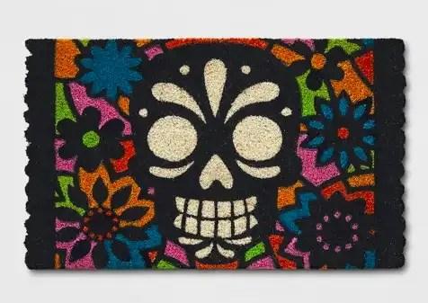 sugar-skull-doormat