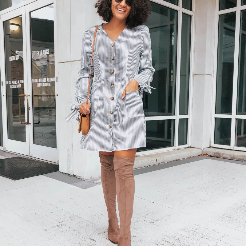 3 Ways to Style Over the Knee Boots