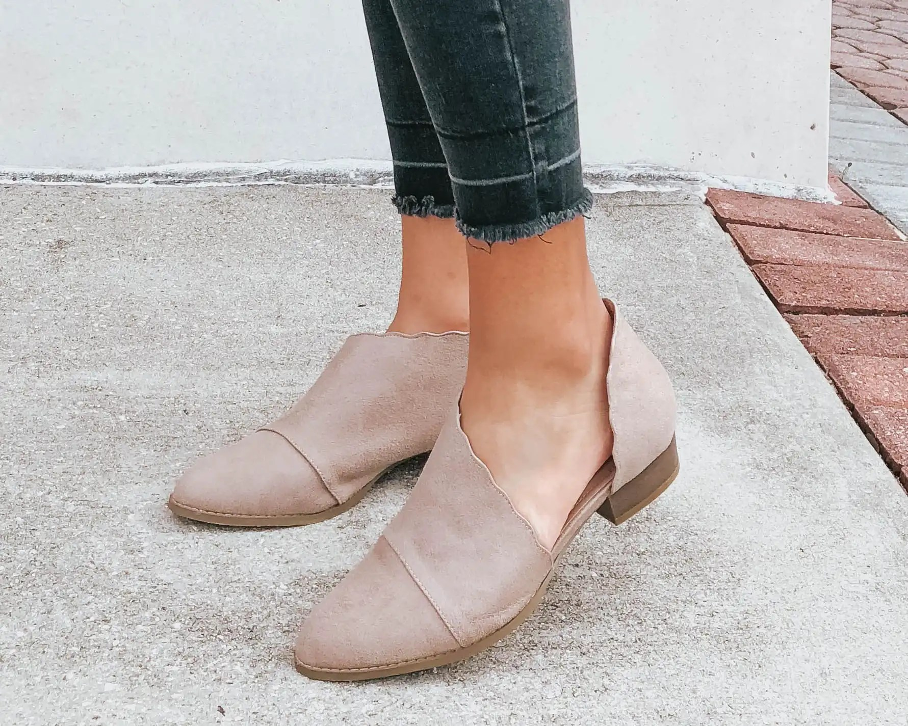 ruffle-cutout-booties-entourage-winter-style-review