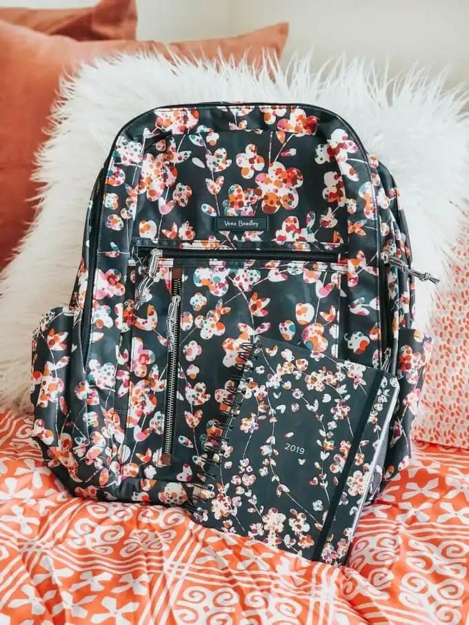 floral-back-pack-and-planner-vera-bradley-bedroom