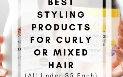 3 of the Best Styling Products for Curly or Mixed Hair