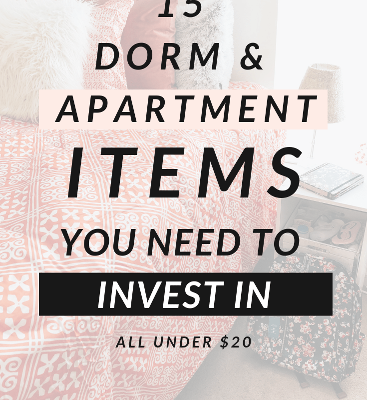 15 Dorm & Apartment Must-Haves Under $20