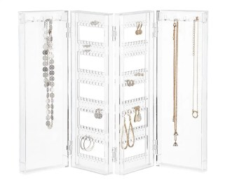 Jewelry Organizer The Container Store Master Bedroom Tour