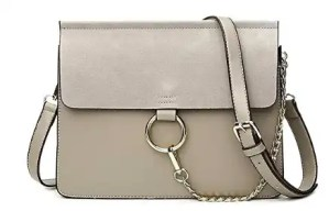 Leather Crossbody Ring Bag Affordable Spring and Summer Bags