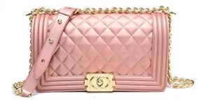 Pink Quilted Crossbody Bag Spring and Summer Handbags Under Fifty Dollars
