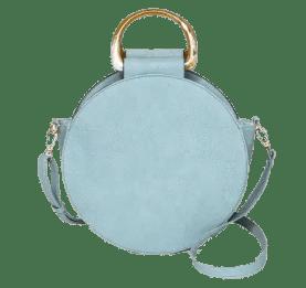 Blue Round Satchel Handbag from Target