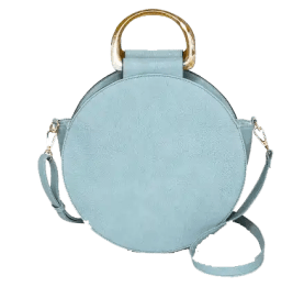 Blue Round Satchel Handbag from Target