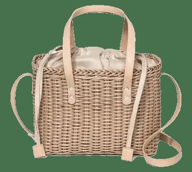 Square Rattan Bag Fourteen Affordable Spring and Summer Handbags