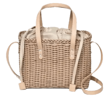 Square Rattan Bag Fourteen Affordable Spring and Summer Handbags