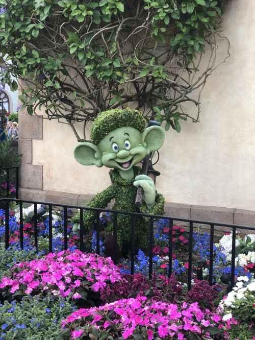 Dopey Topiary Disney's Flower and Garden Festival