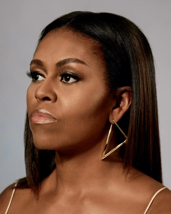 head shot of Michelle Obama from the New York Times
