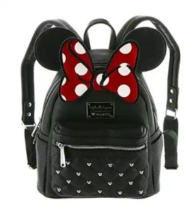 Minnie Faux Leather Backpack Disney Finds