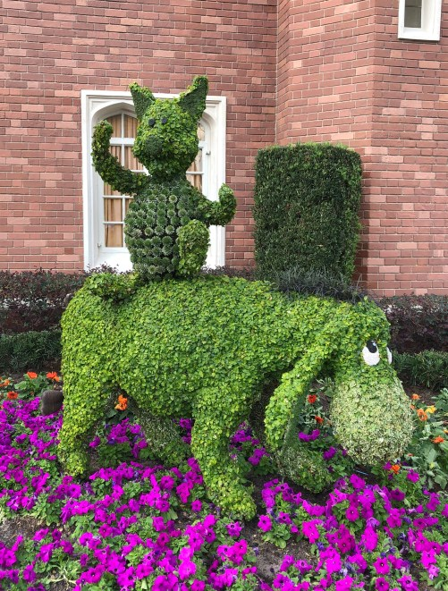 Piglet and Eeyore Topiary Disney's Flower and Garden Festival Epcot