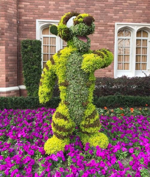 Tigger Topiary Disney's Flower and Garden Festival Epcot