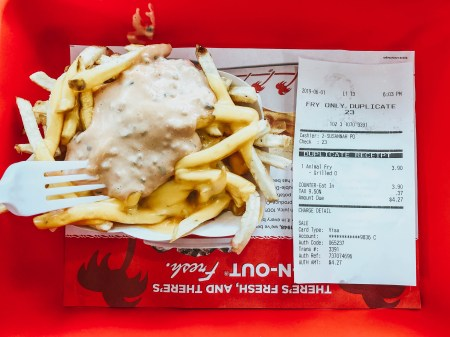 Animal Style Fries In-N-Out Burger