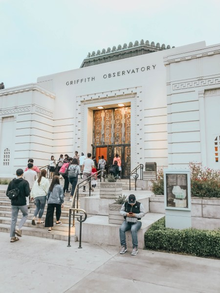 The Griffith Observatory Los Angeles