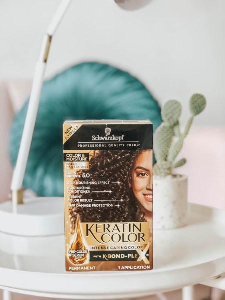 Keratin Hair Color for Hair Dye Tutorial