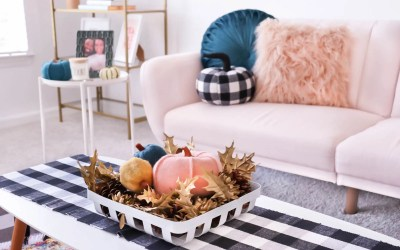 How to Decorate Your Living Room With Pastels for Fall