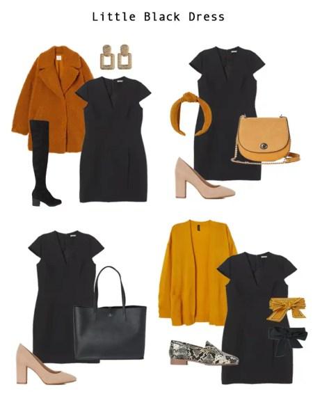 Four Work Wear Looks that Include a Little Black Dress