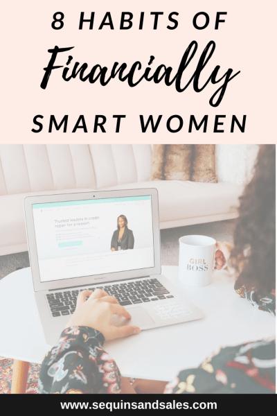 8 Habits of Financially Smart Women