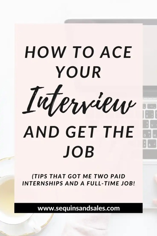 How to Ace Your Interview and Get the Job Cover Photo