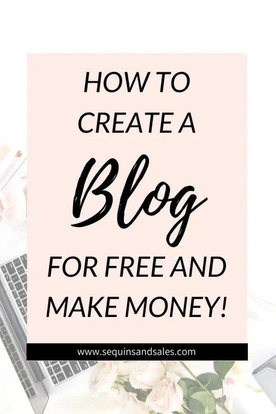 How to Create a Blog for Free and Make Money Cover Photo