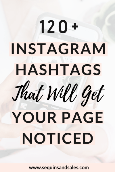 120+ Instagram Hashtags For All Blogging Niches
