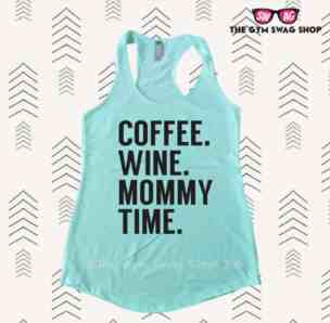 coffee wine mommy time