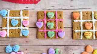 TIC TAC TOE Valentine Craft Treat