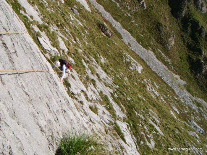 escalada Fresnidiello Picos de Europa 1 SERAC COMPAÑÍA DE GUÍAS