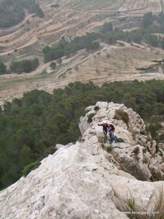 cresta Forada Alicante 1 SERAC COMPAÑÍA DE GUÍAS