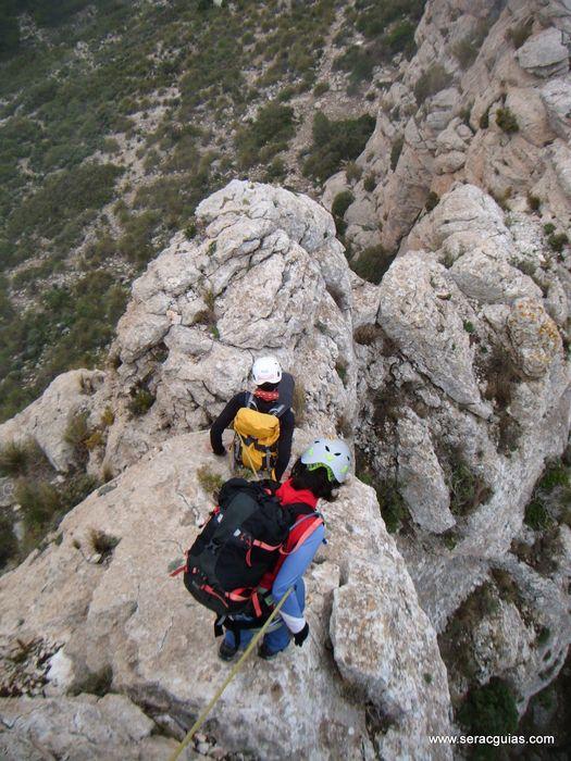 cresta Forada Alicante 2 SERAC COMPAÑÍA DE GUÍAS