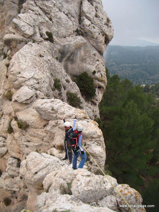 cresta Forada Alicante 3 SERAC COMPAÑÍA DE GUÍAS